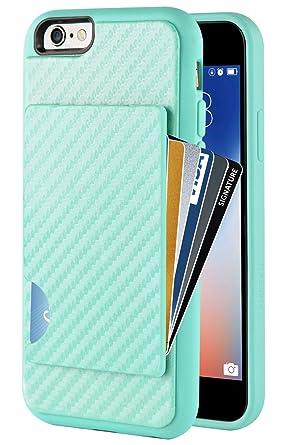 Amazon.com: iPhone Funda portafolios, iPhone titular de la ...