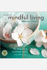 """A Year of Mindful Living 2020 Mini Wall Calendar (7"""" x 7"""", 7"""" x 14"""" open) Calendar"""