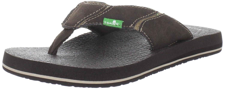 ff4dfceacb9a Sanuk Men s Fault Line Thong Sandal  Amazon.co.uk  Shoes   Bags