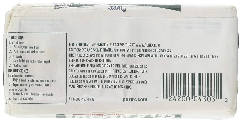 Fels Naptha - Jabón para la colada de 156 g (3 unidades): Amazon ...