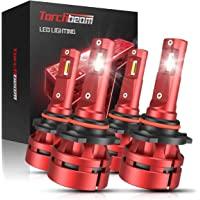 $59 » Torchbeam T2 9005/HB3 9006/HB4 LED Headlight Bulb Kit 16000 Lumens, 6500K Cool…
