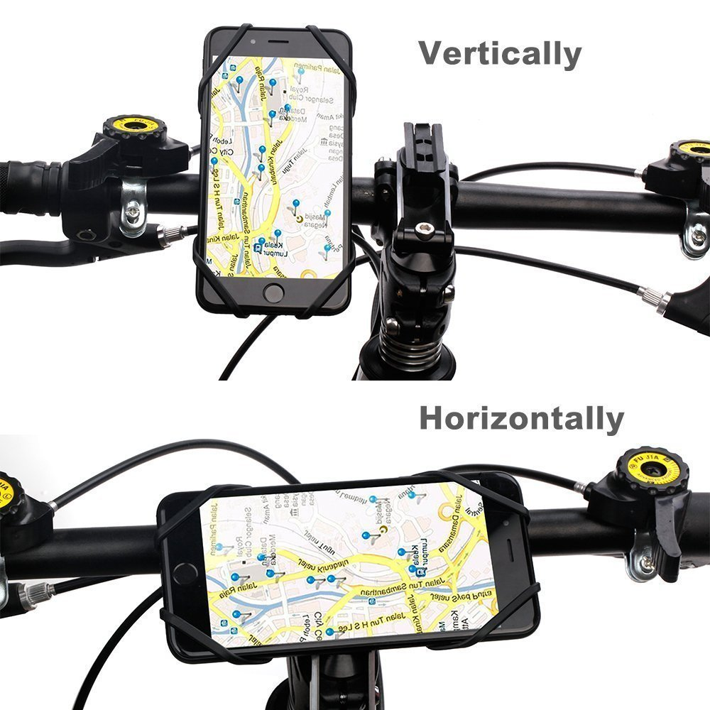 Samsung Galaxy S7// S8 VOGEK 4351676655 Adjustable Cell Phone Holder for Bike Handlebars Supports iPhone X// 8//8 Plus// 7// 7 Plus//6//6 Plus Universal Bicycle Phone Mount