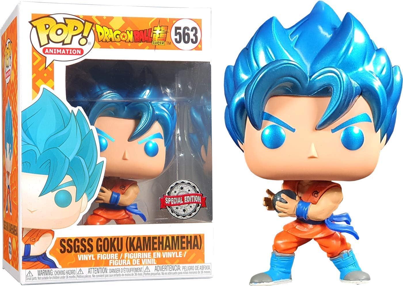 Amazon.com: POP: Animación: Dragon Ball Super - SSGSS Goku ...