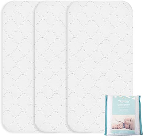Tillyou - Cambiador impermeable de PVC, 3 capas., Pack De 3: Amazon.es: Bebé