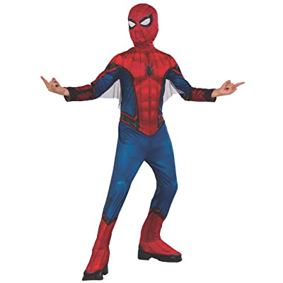 Rubie's Marvel Spider-Man Far from Home Child's Spider-Man Costume & Mask, Small: Toys & Games