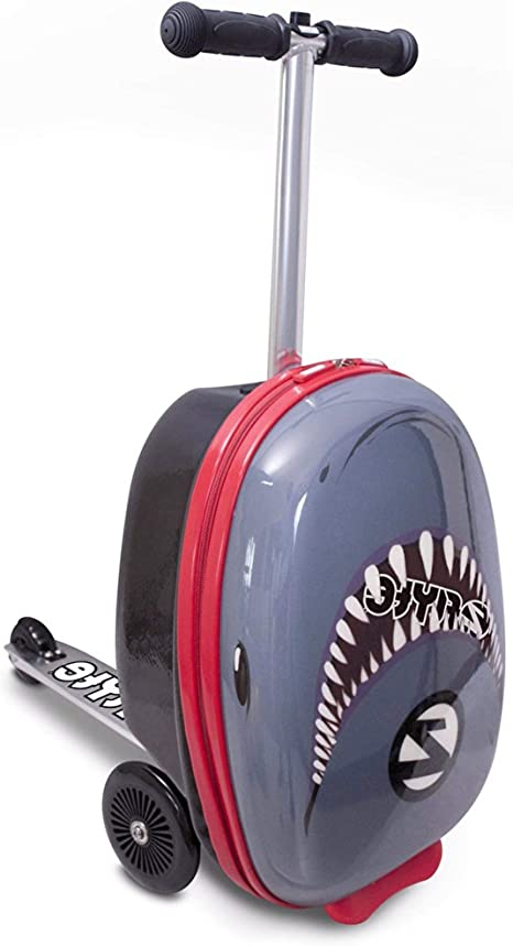 Flyte Snapper The Shark Maleta Midi Scooter de 18, Juventud Unisex ...