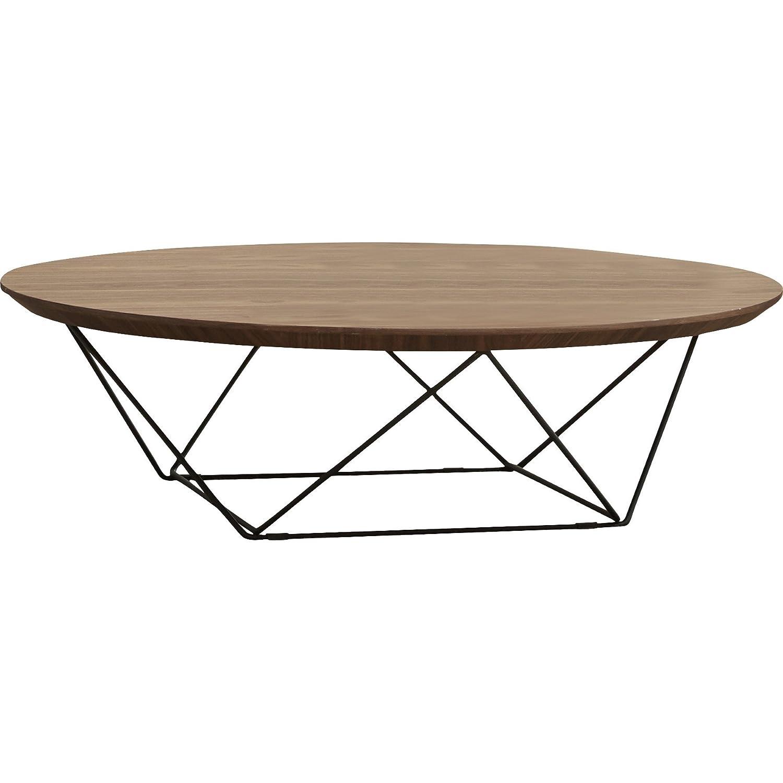 Vig furniture modrest spoke coffee table in walnut amazon ca home kitchen