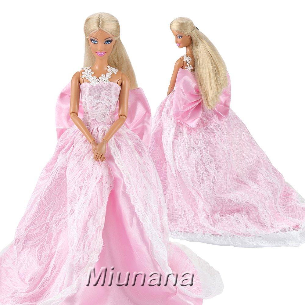 new Miunana 1 Vestido de noche con Lazo Ropa Princesa Elegante ...