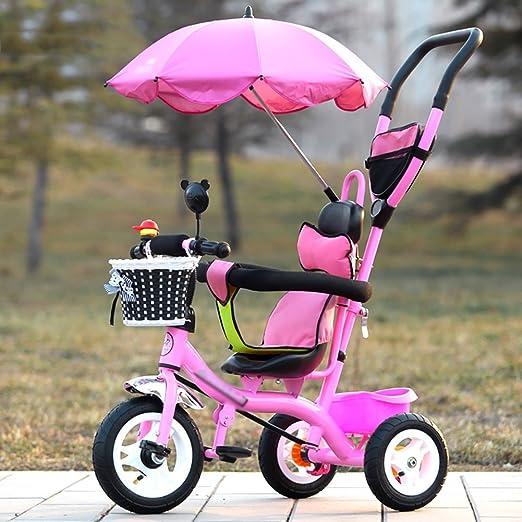 Amazon.com: Tricycle Trike - Carrito para niños de 1 a 3 a 5 ...