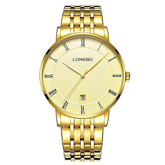 relojes de moda negocio de gama alta de los hombres número redondo roma marque todas reloj