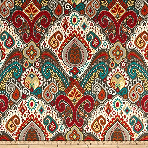 Waverly Sun N Shade Boho Passage Fiesta Outdoor, Fabric by the Yard