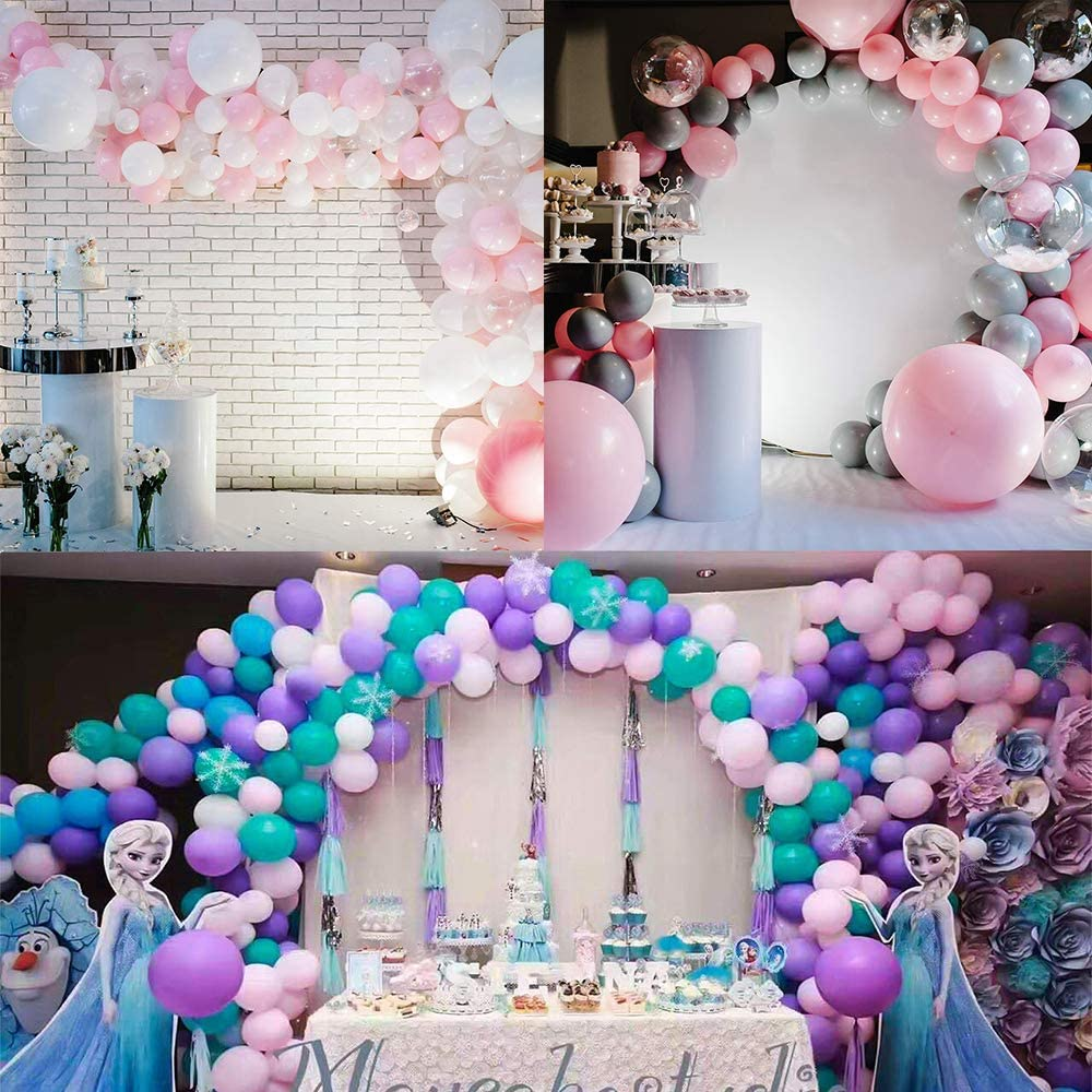 3600 Pieces Glue Points Balloons Double Sided Dots of Glue Tape for Balloons Party or Wedding Decoration 12 Rolls 300 Pieces Each Rolls
