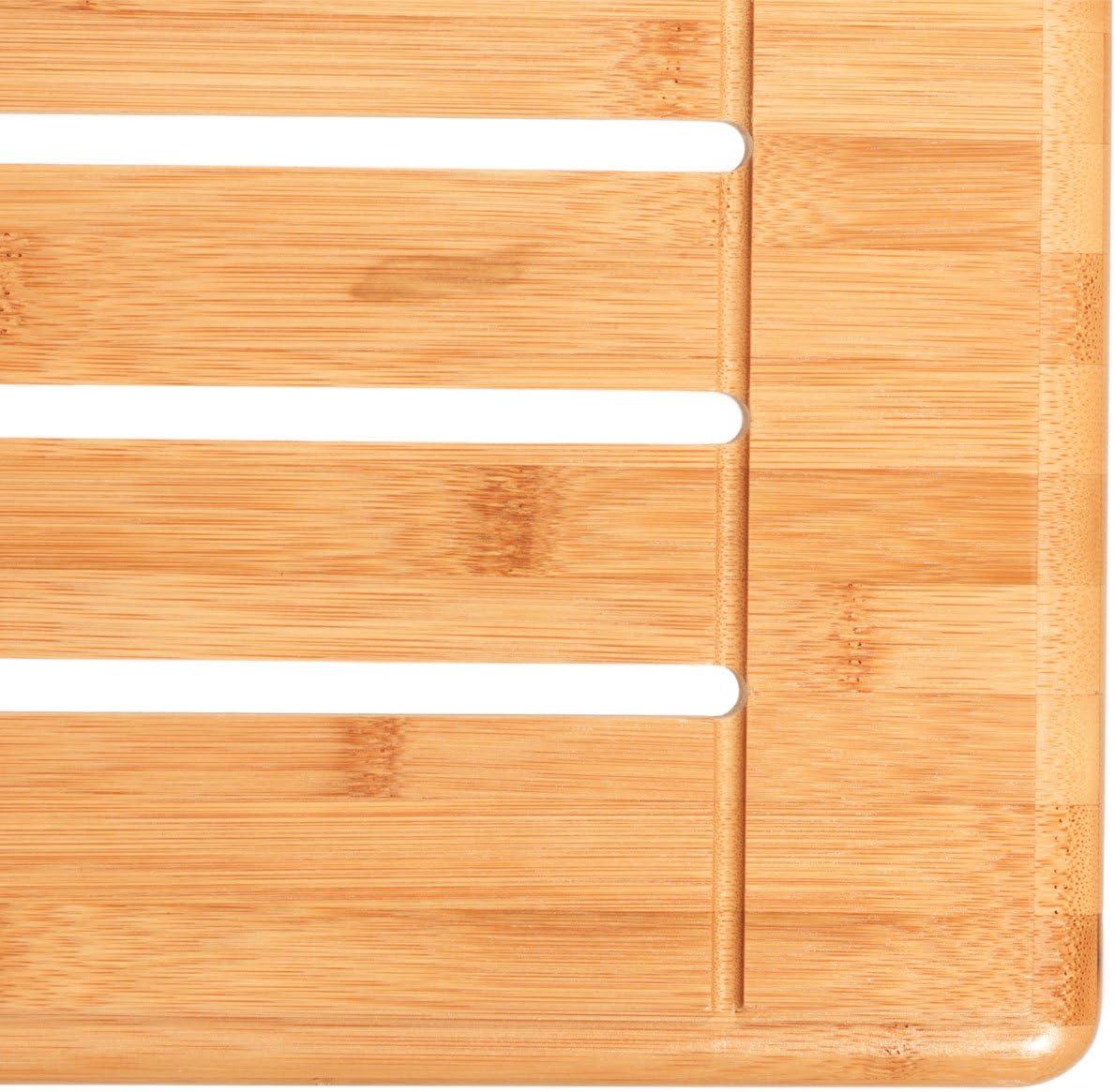 50 x 100cm Videx-Balkonklapptisch Bambusholz