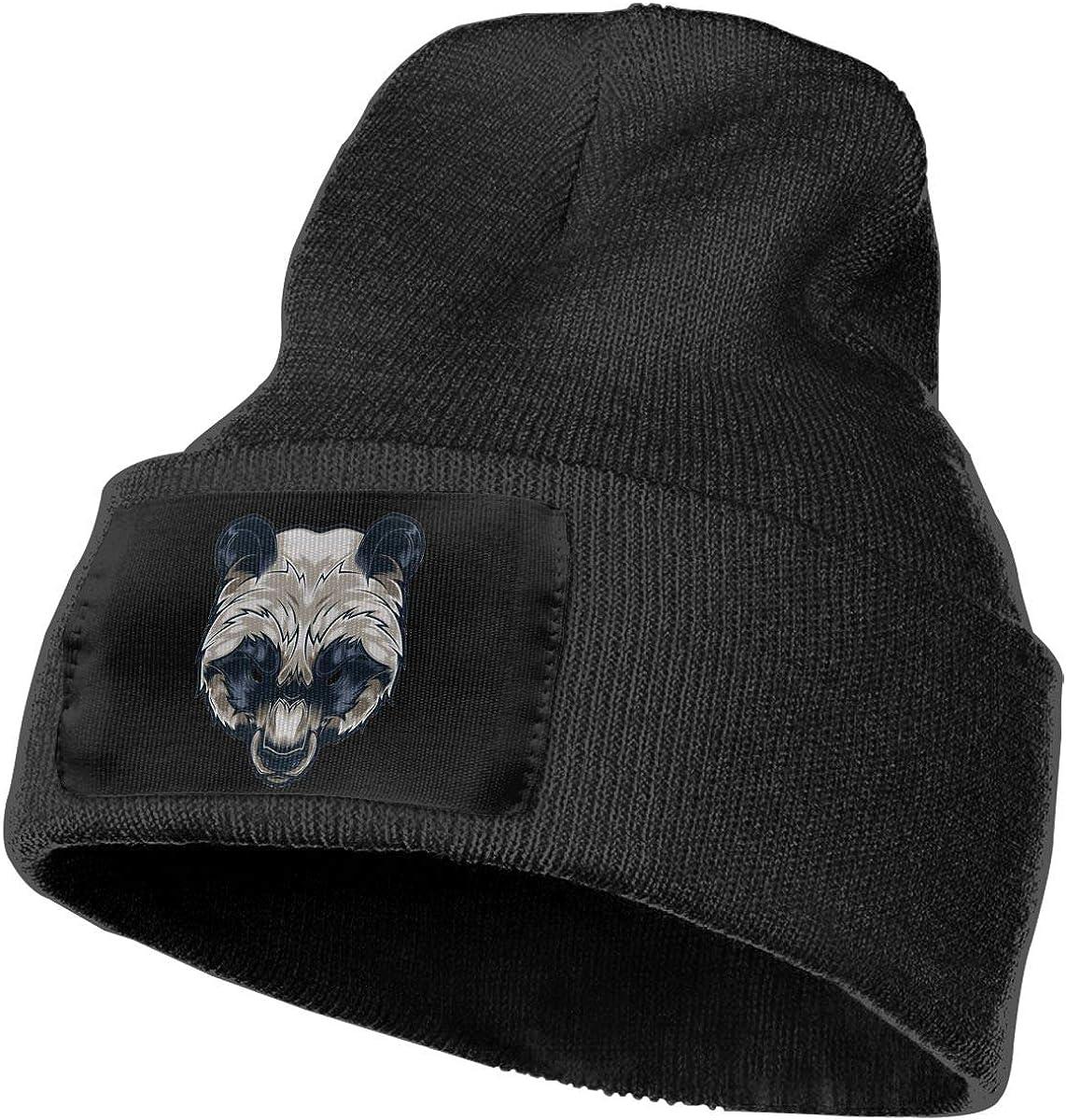 SLADDD1 Bear Warm Winter Hat Knit Beanie Skull Cap Cuff Beanie Hat Winter Hats for Men /& Women