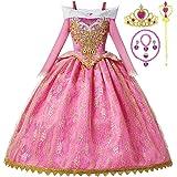 Romy's Collection - Falda de princesa Cenicienta para niñas con accesorios