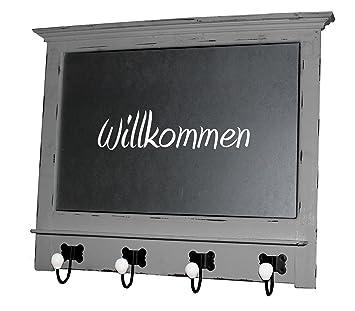 Amazon.de: Landhaus Garderobe + Tafel Vintage Shabby Wandtafel Küche ...