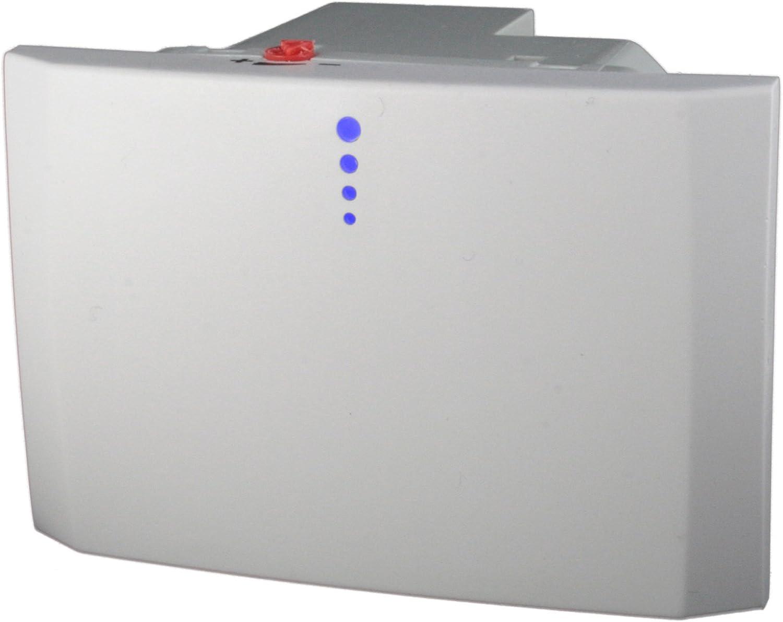 Orbis pulsamat temporizador luces escaleras con activación a sfioro, empotrable Serie Civile 3 módulos: Amazon.es: Iluminación