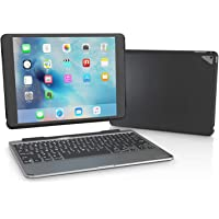 ZAGG Slim Book Ultrathin Case, Hinged with Detachable Bluetooth Keyboard for Apple iPad Pro 9.7 (Black)