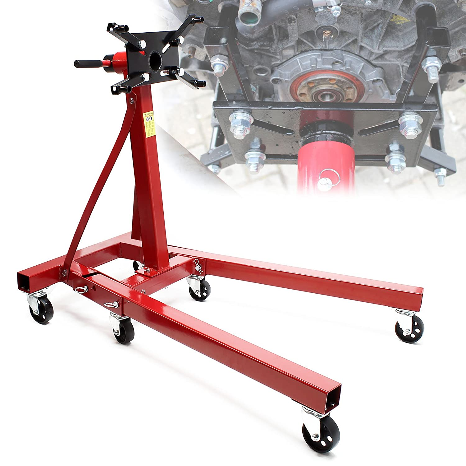 Wiltec Engine stand engine mounting support 900 kg