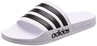 1d8db4f7179b adidas Men s Adilette Shower Beach   Pool Shoes  Amazon.co.uk  Shoes ...