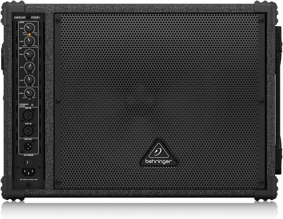 BEHRINGER F1220D Bi-Amped 250-Watt Monitor Speaker System