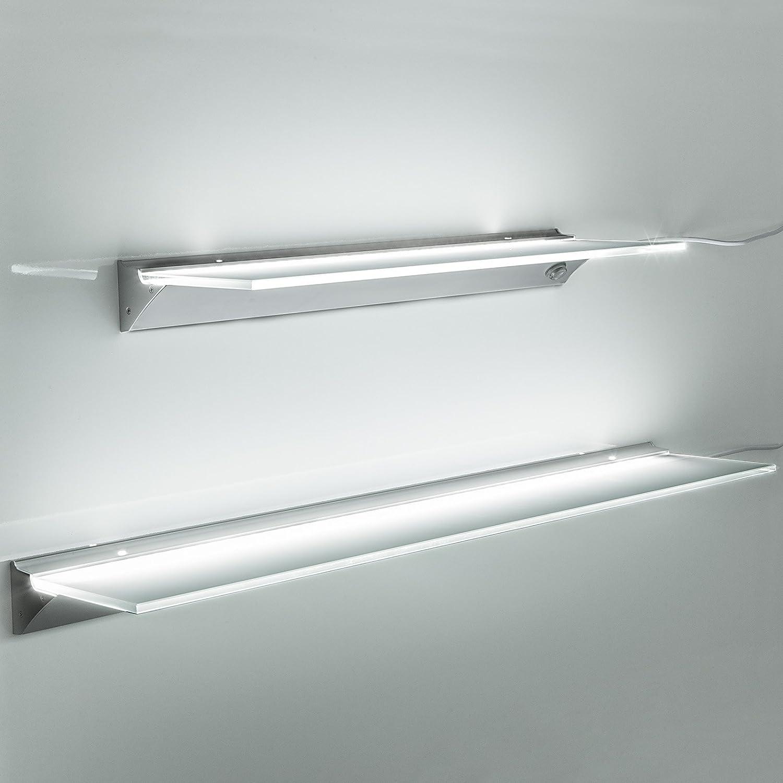SO-TECH® LED Leuchtregal SARA Leuchtfarbe neutral weiß (4000K) Lichtboden Leuchtboden 600 mm
