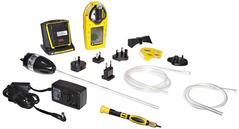 BW tecnologías m5pid-xwqy-r-p-d-y-n-00 GasAlertMicro 5 PID Detector de gas con polímero de litio recargable y bomba, COV, combustible, O2, H2S, CO, ...