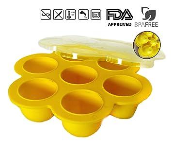 LH s BPA - Molde de silicona para huevos de huevos para accesorios instantáneos –