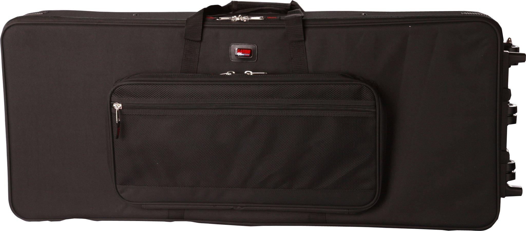 Gator GK88SLIM Slim Line 88-Note Lightweight 54 x 15 x 6 Inches Keyboard Case on Wheels