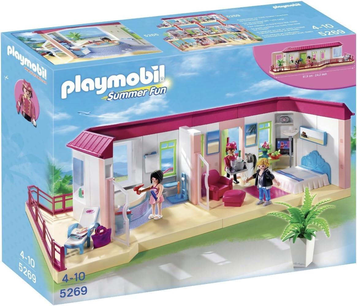 PLAYMOBIL Hotel - Suite, Set de Juego , Multicolor, 45 x 12,5 x 35 ...