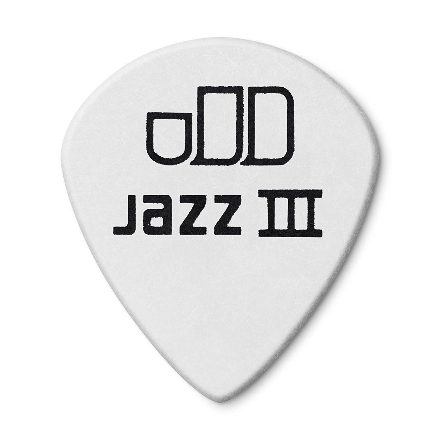 Amazon.com: Jim Dunlop 478P1.14 Tortex White Jazz III, 1.14mm, 12 ...