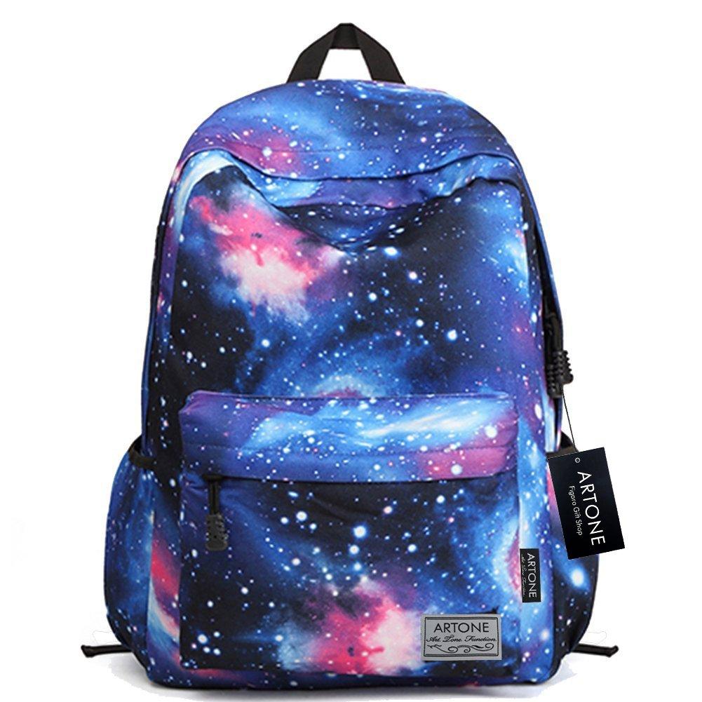 Artone Vert Universe Galaxie Casual Sac bandoulière Sac d'épaule FIGARO101002