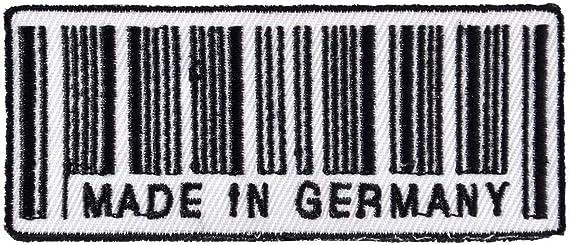 Aufnäher Aufbügler Made In Germany Deutschland Auto