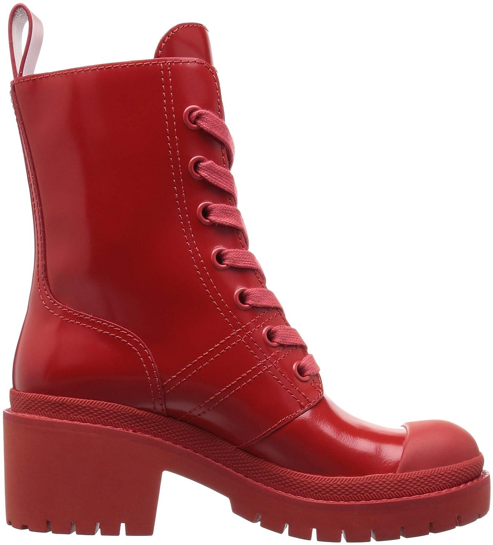 Marc Ankle Jacobs Women's Bristol Laced Ankle Marc Boot B07822JM92 41 M EU (11 US)|Red 0f9871