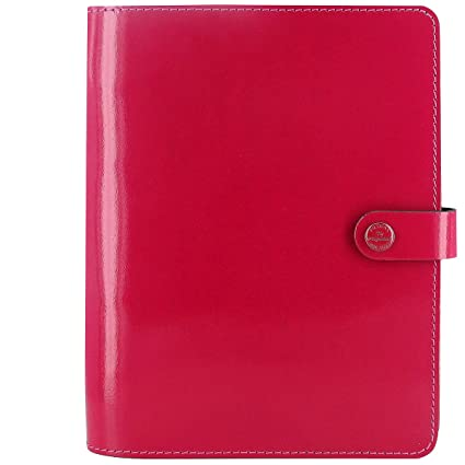 Amazon.com : Filofax 2016 The Original A5 Patent Fuchsia ...
