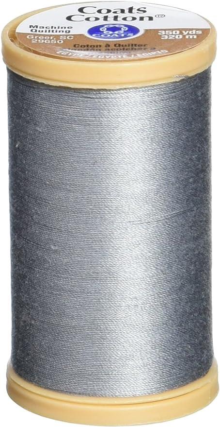 350-yard Natural Yd Coats Thread /& Zippers Machine Quilting Cotton Thread