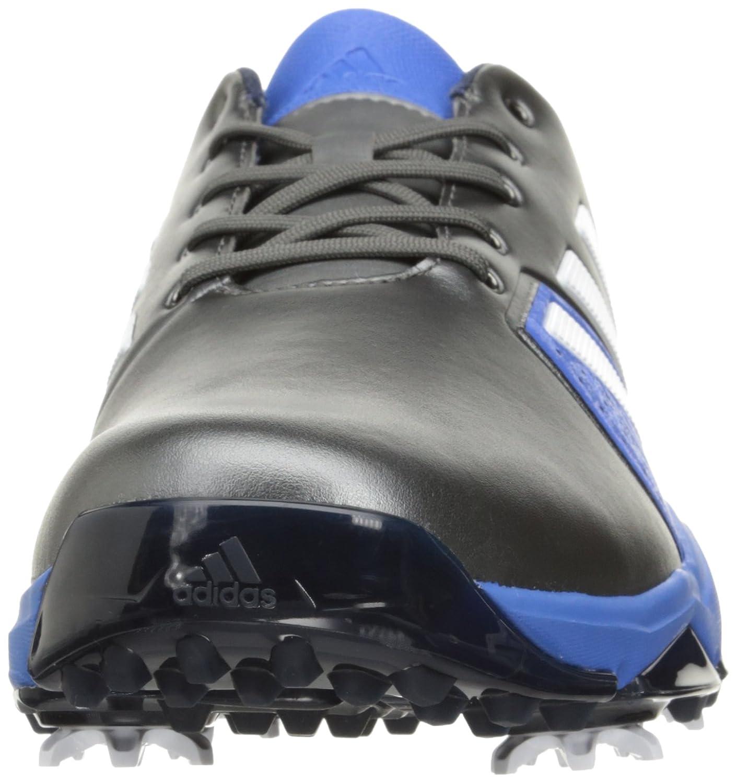 adidas uomini s adipower spinta / 3 / impulso scarpa da golf darksilvermetallic