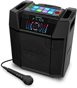 ION Explorer FX High-Power Bluetooth Speaker with Sound Effects IPX4 Water-Resistant