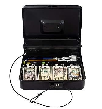 Dinero Banco caja de caudales con cerradura de combinaci/ón