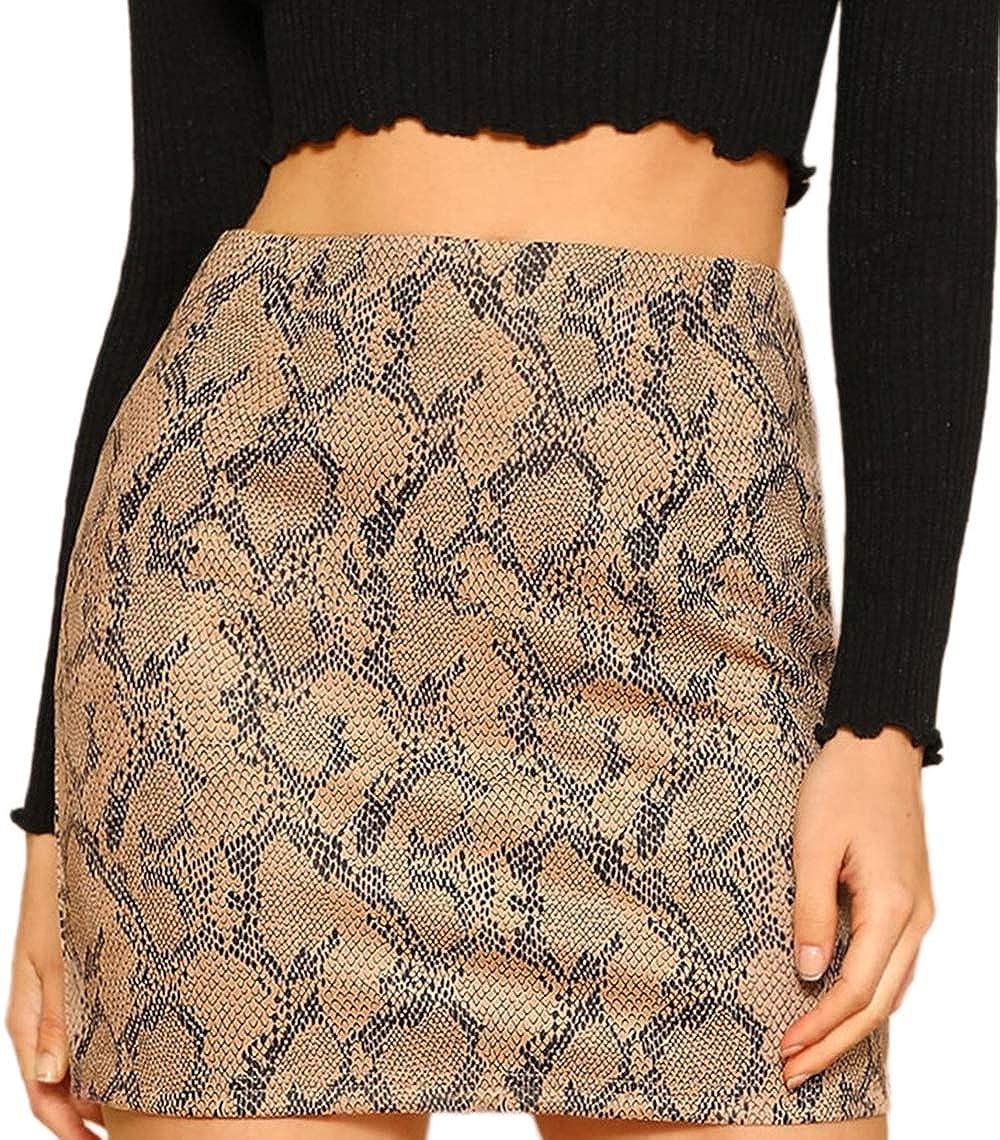 Multicolor SheIn Women's Basic Stretch Plaid Mini Bodycon Pencil Skirt