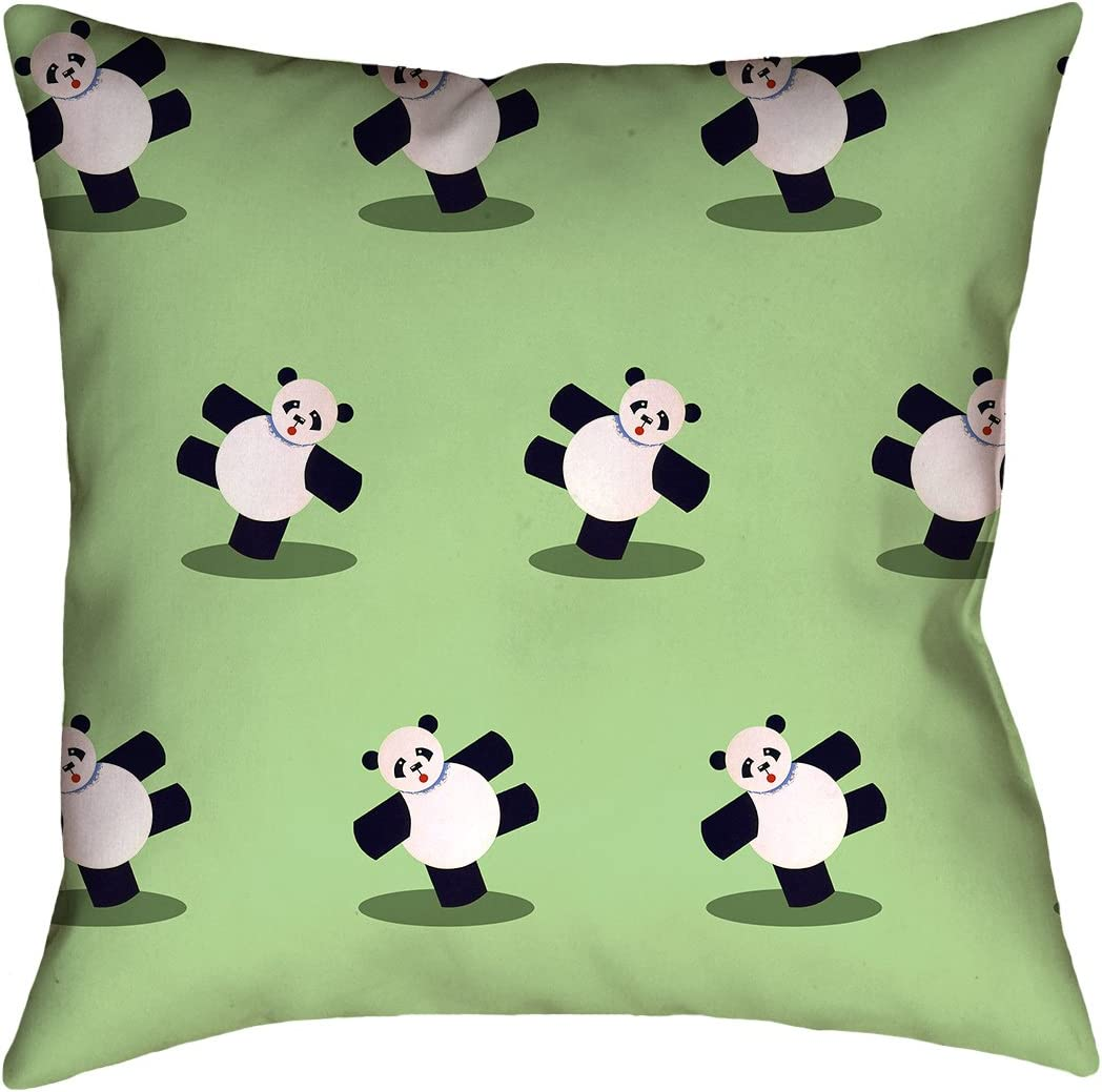 Pillow Cover Only ArtVerse Katelyn Smith California Canvas 14 x 14 Pillow-Poly Twill Double Sided Print with Concealed Zipper