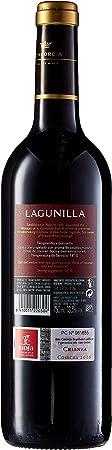 Lagunilla - Vino Tinto Crianza Botella - 3 botellas x 750 ml - Total: 2250ml