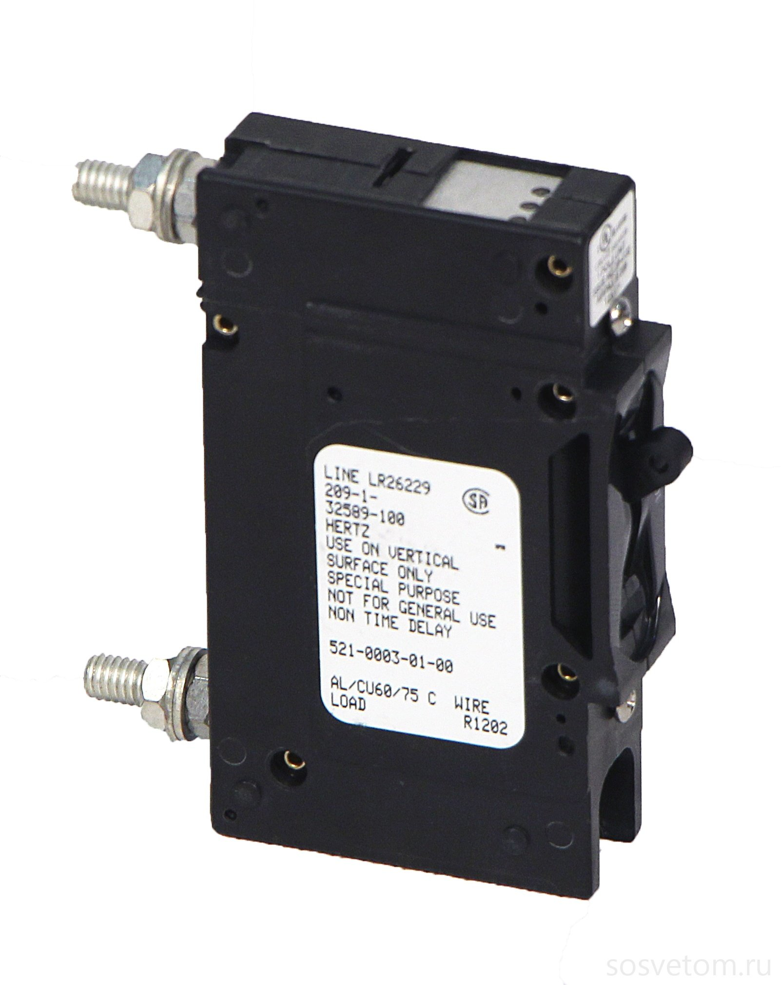 Outback-PNL-100-DC - 100 Amp Panel Mount DC Rated Breaker by Outback Power Systems