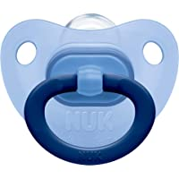 NUK Fashion Silicone Soother, Age 0-6m - Boy