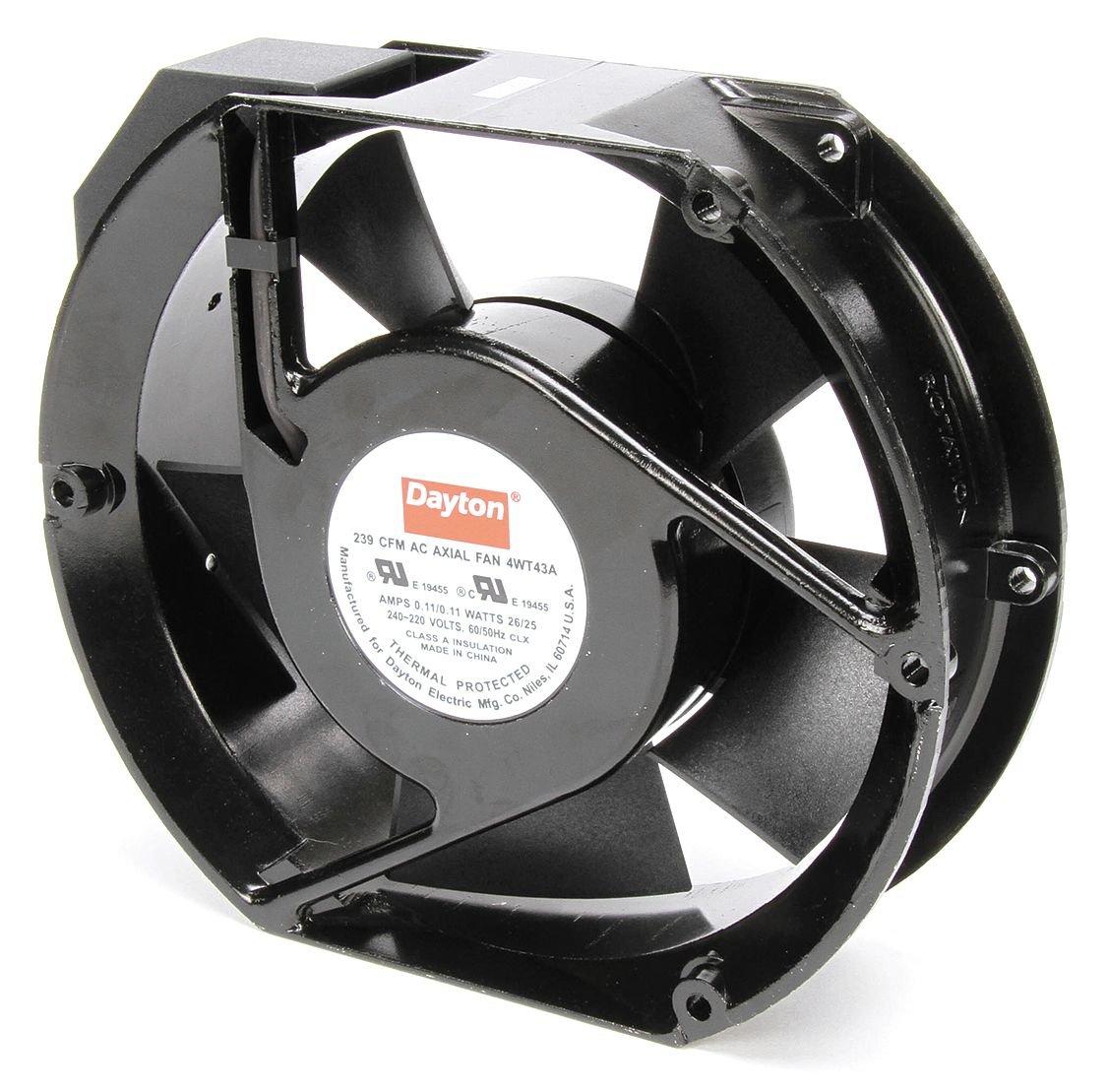 Dayton 4WT43 Fan, Axial, 238 CFM, 230v