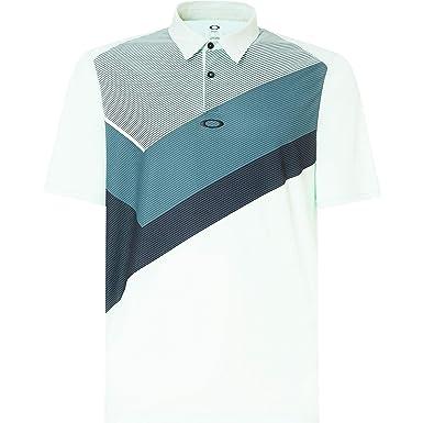 Oakley Mens Polo Shirt Ss Placed Collar Block, Bay Green, XXL ...