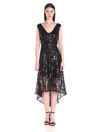d2e86094 Amazon.com: Tracy Reese Women's Sequin Lace Dress, Black 0: Clothing