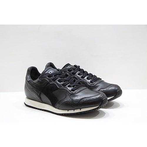 Brogue Black Colore In L Heritage Diadora Di Pelle Trident Sneakers xhrdCtsQ