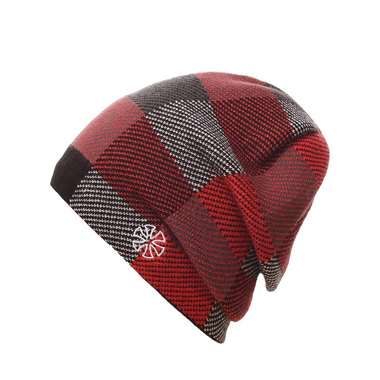 Leories Unisex Beanie Hat Winter Warm Knit Ski Hat