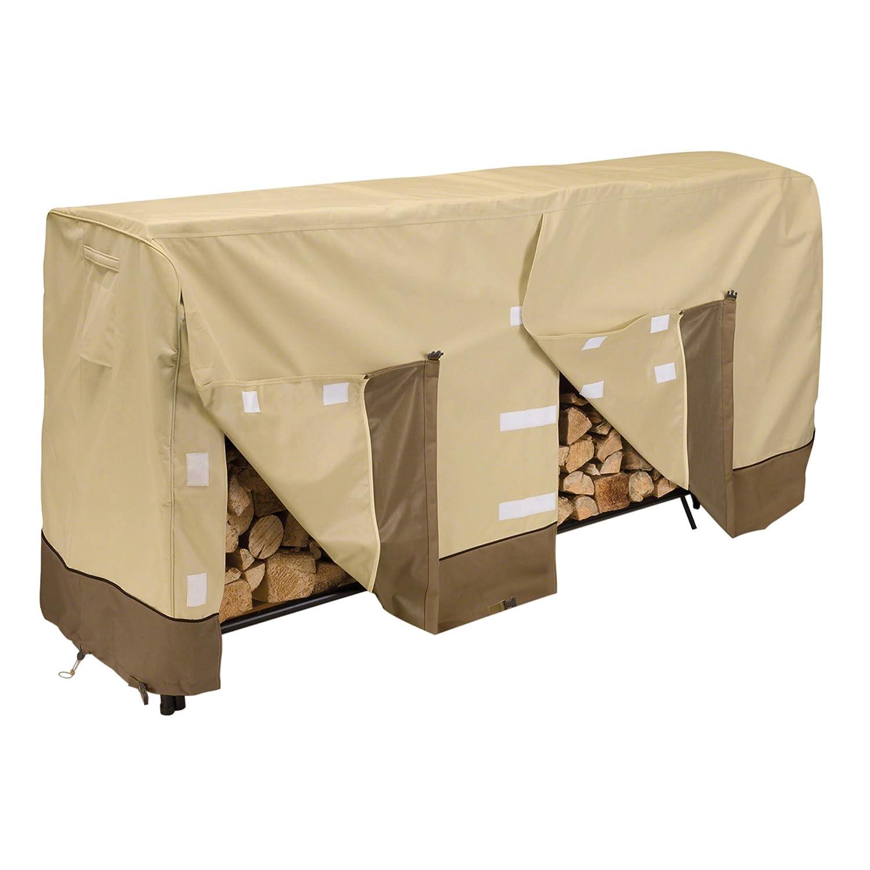 Classic Accessories Veranda Log Rack Cover, 8-Feet - Shop Amazon.com Log Carriers & Holders